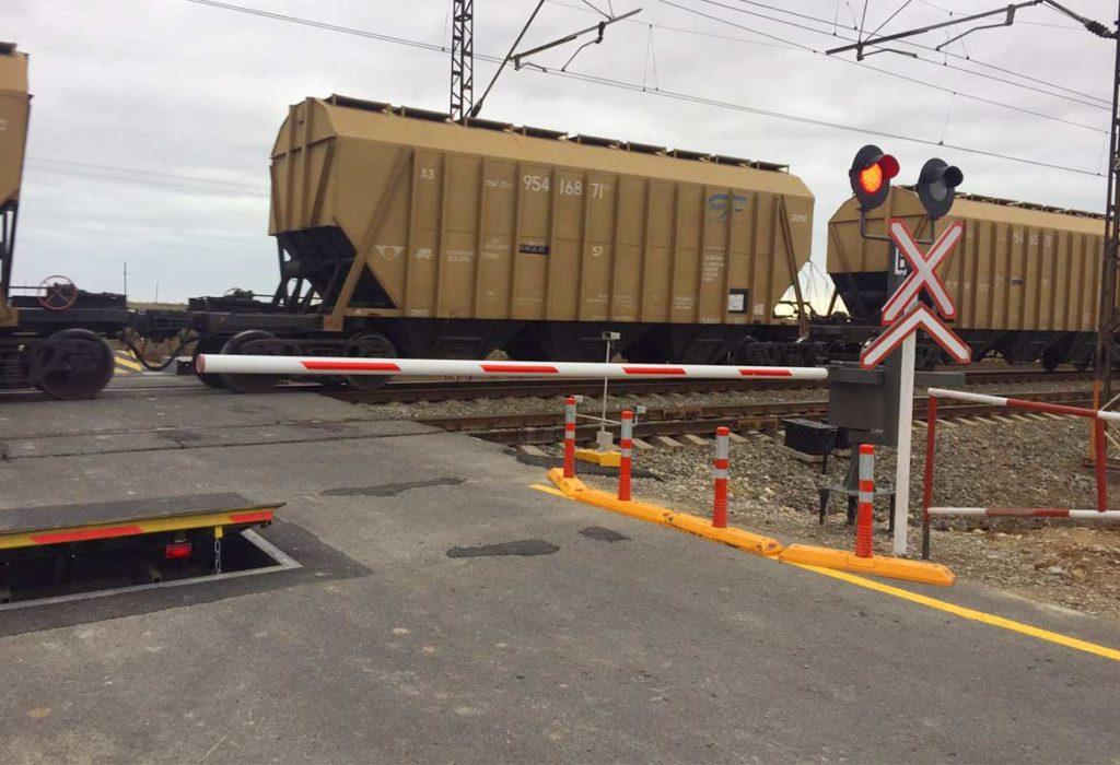 Устаткування залізничного переїзду, Азербайджан