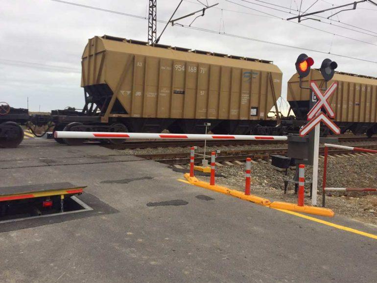 Оборудование железнодорожного переезда, Азербайджан