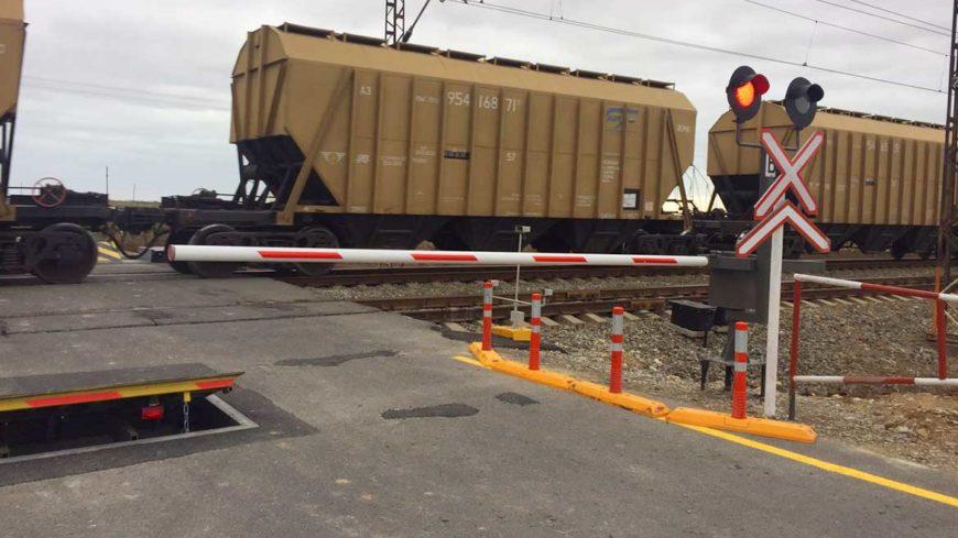 Устаткування залізничного переїзду